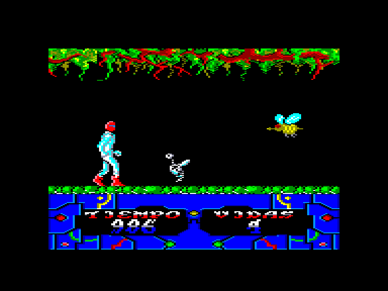 screenshot of the Amstrad CPC game Sgrizam by GameBase CPC
