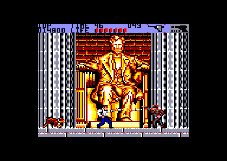screenshot of the Amstrad CPC game Secret Agent by GameBase CPC