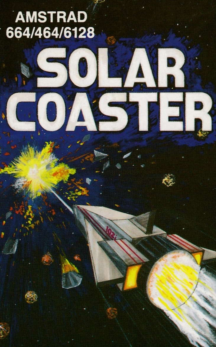 screenshot of the Amstrad CPC game Solar Coaster by GameBase CPC
