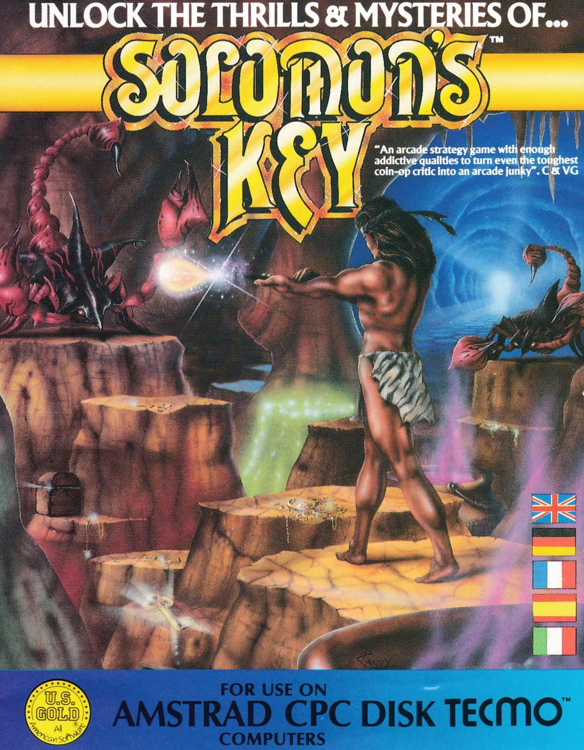 cover of the Amstrad CPC game Solomon's Key  by GameBase CPC