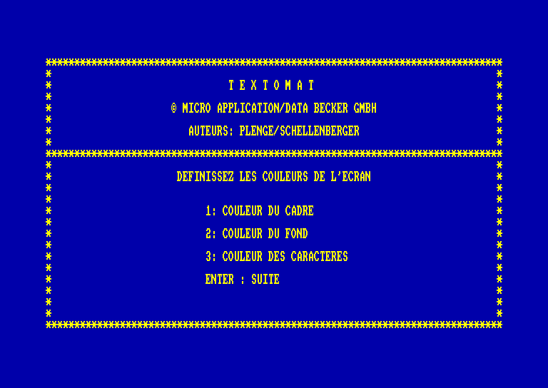 screenshot of the Amstrad CPC game Solution (la) by GameBase CPC