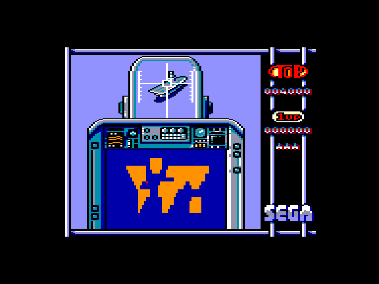 screenshot of the Amstrad CPC game Sonic Boom by GameBase CPC