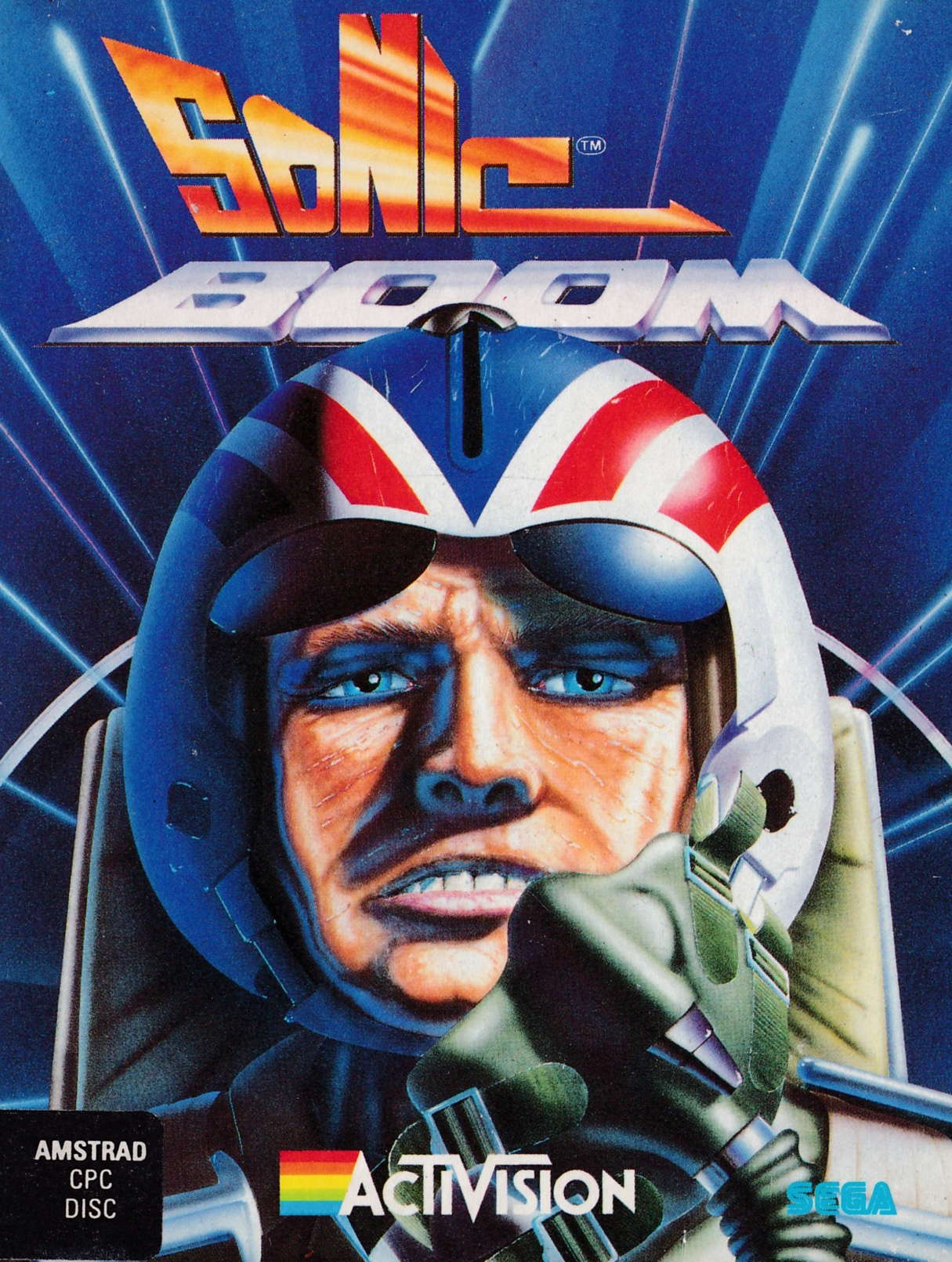 cover of the Amstrad CPC game Sonic Boom  by GameBase CPC