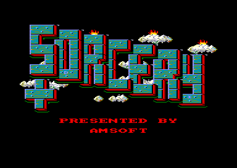 screenshot of the Amstrad CPC game Sorcery + by GameBase CPC
