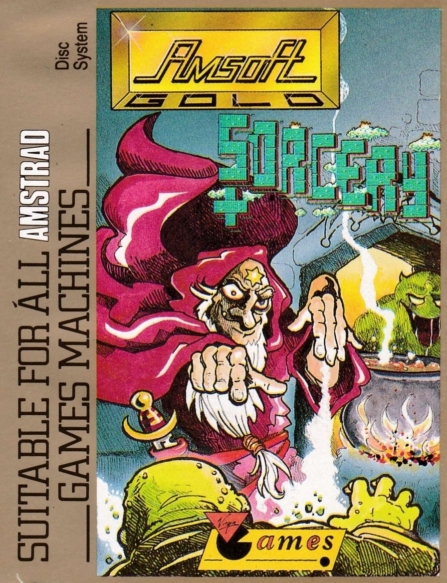 cover of the Amstrad CPC game Sorcery +  by GameBase CPC