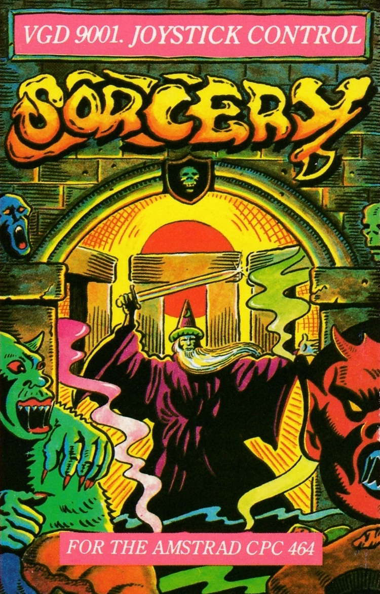 cover of the Amstrad CPC game Sorcery  by GameBase CPC