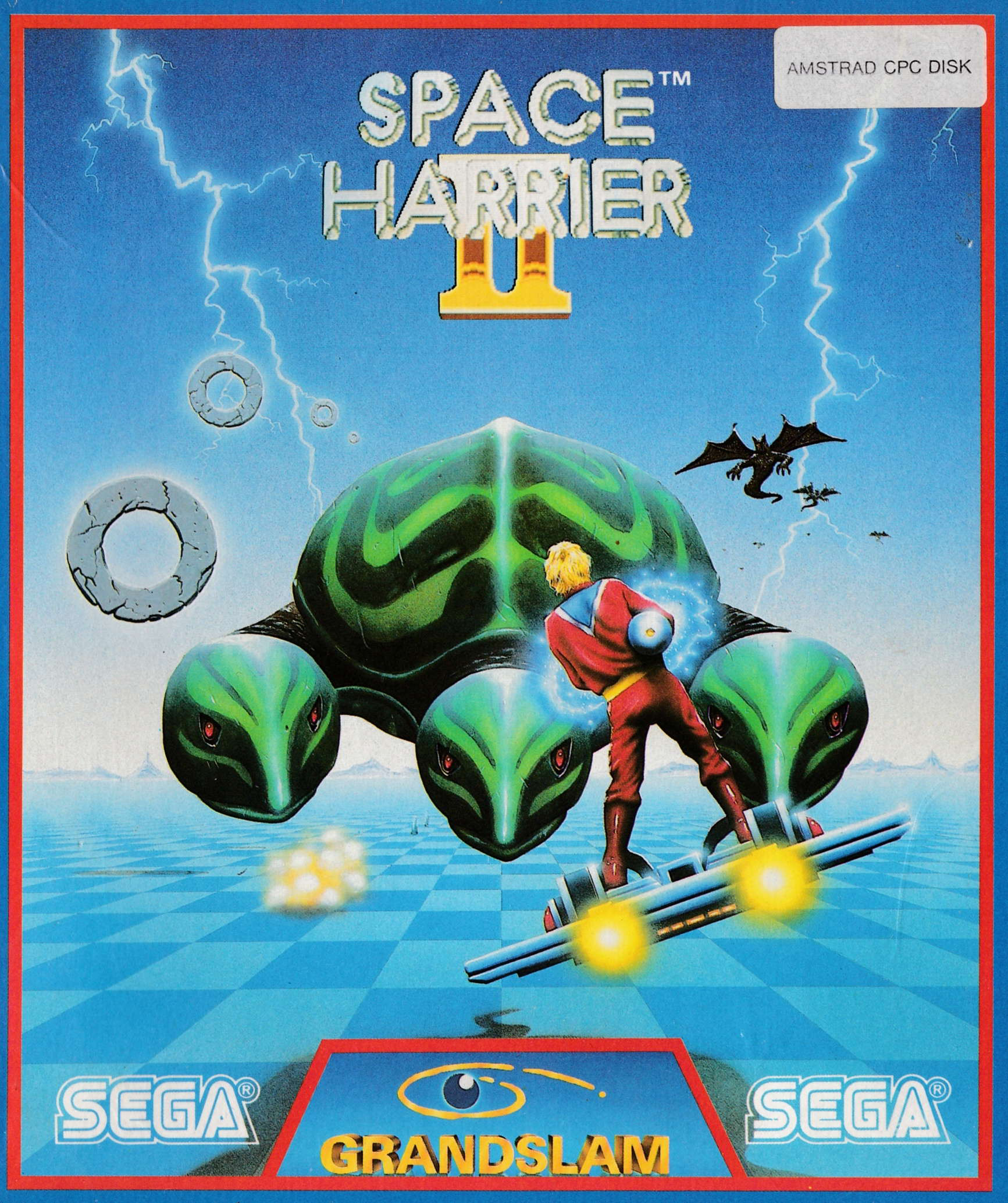 cover of the Amstrad CPC game Space Harrier II  by GameBase CPC