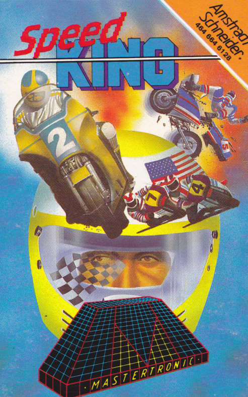 screenshot of the Amstrad CPC game Speed King by GameBase CPC
