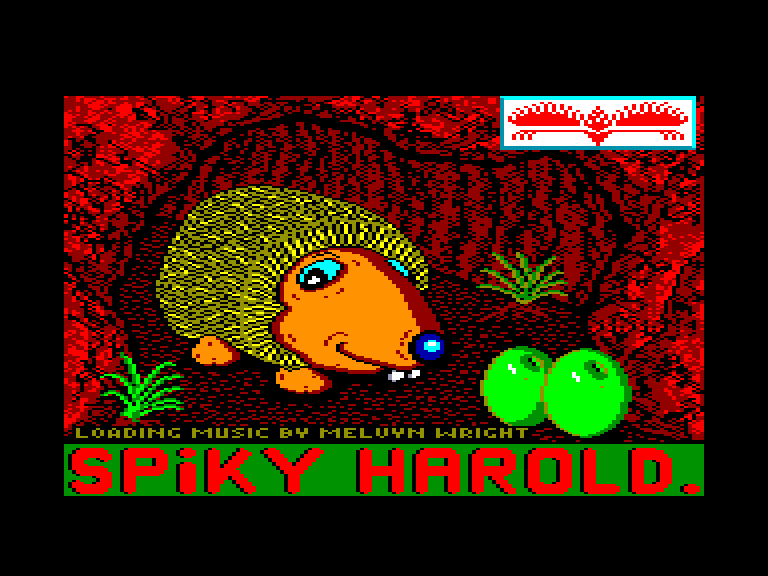 screenshot of the Amstrad CPC game Spiky harold by GameBase CPC