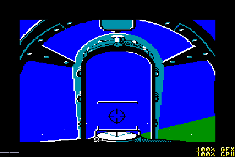 screenshot of the Amstrad CPC game Spitfire 40 by GameBase CPC