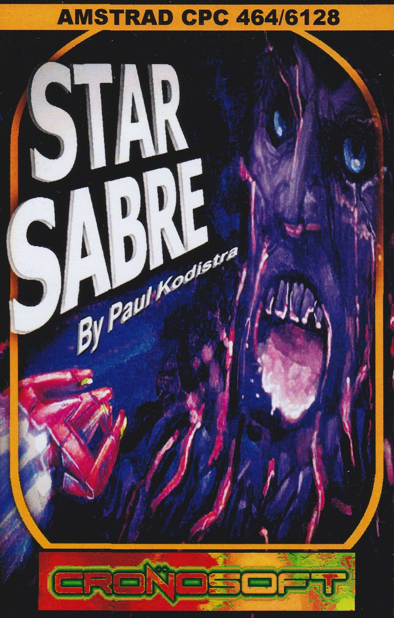 cover of the Amstrad CPC game Star Sabre  by GameBase CPC