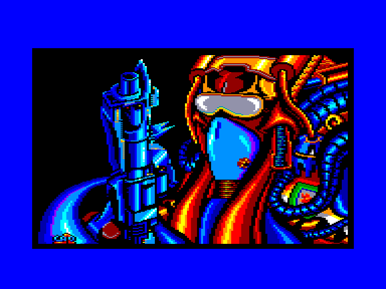 screenshot of the Amstrad CPC game Stardust by GameBase CPC