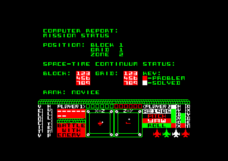 screenshot of the Amstrad CPC game Starion by GameBase CPC