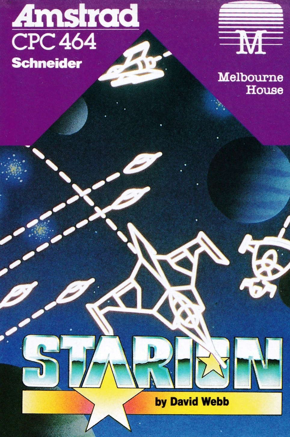 cover of the Amstrad CPC game Starion  by GameBase CPC