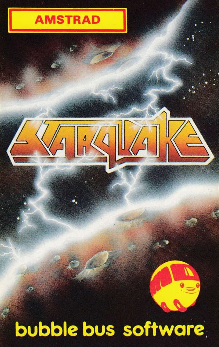 cover of the Amstrad CPC game Starquake  by GameBase CPC