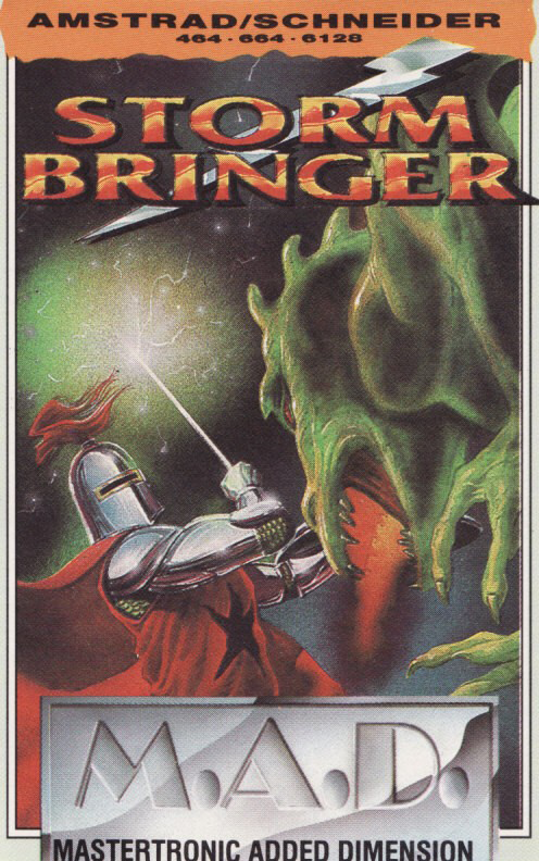 screenshot of the Amstrad CPC game Stormbringer by GameBase CPC