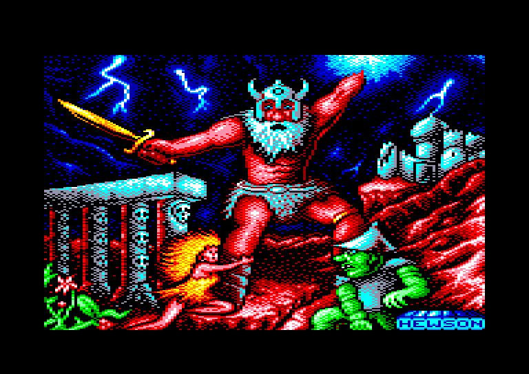screenshot of the Amstrad CPC game Stormlord by GameBase CPC