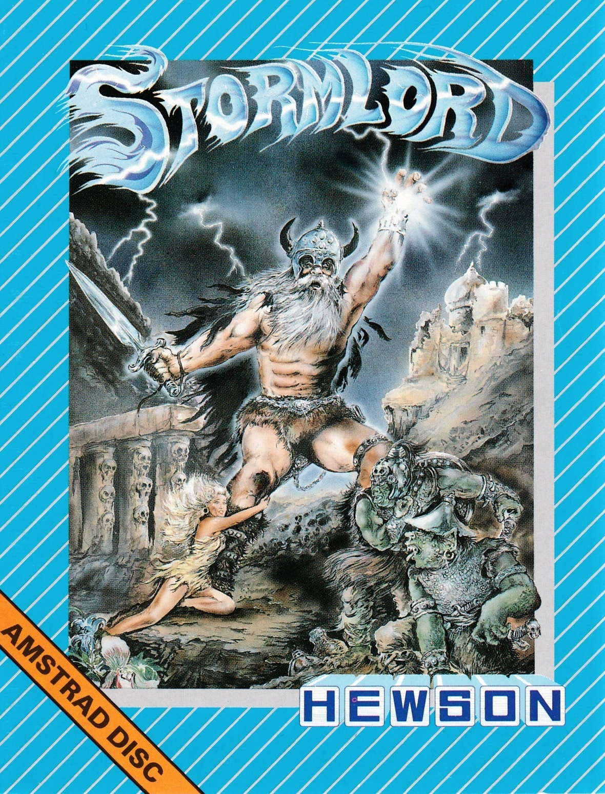 cover of the Amstrad CPC game Stormlord  by GameBase CPC