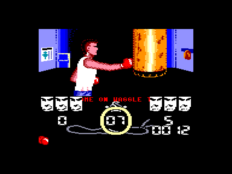 screenshot of the Amstrad CPC game Street cred' boxing by GameBase CPC