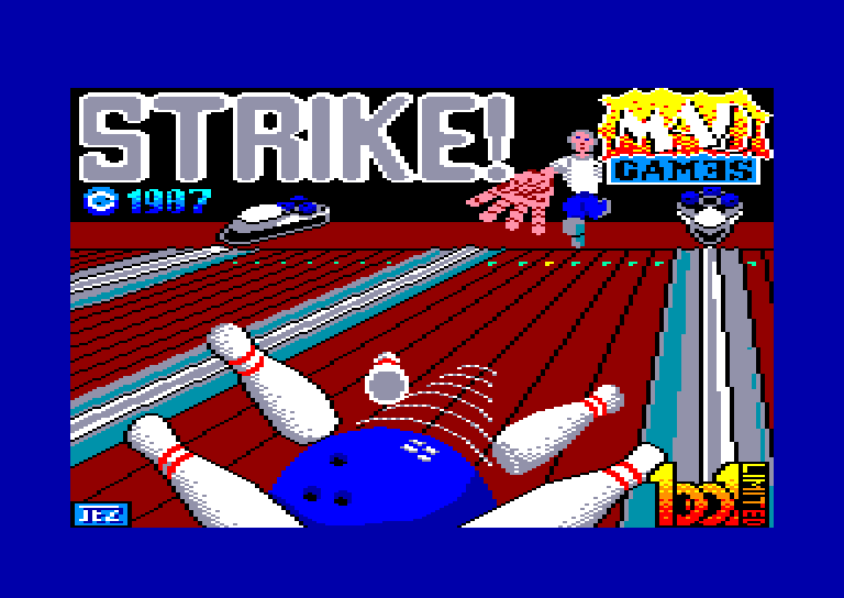screenshot of the Amstrad CPC game Strike by GameBase CPC