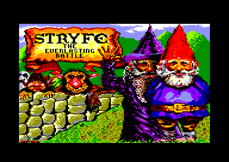 screenshot of the Amstrad CPC game Stryfe by GameBase CPC