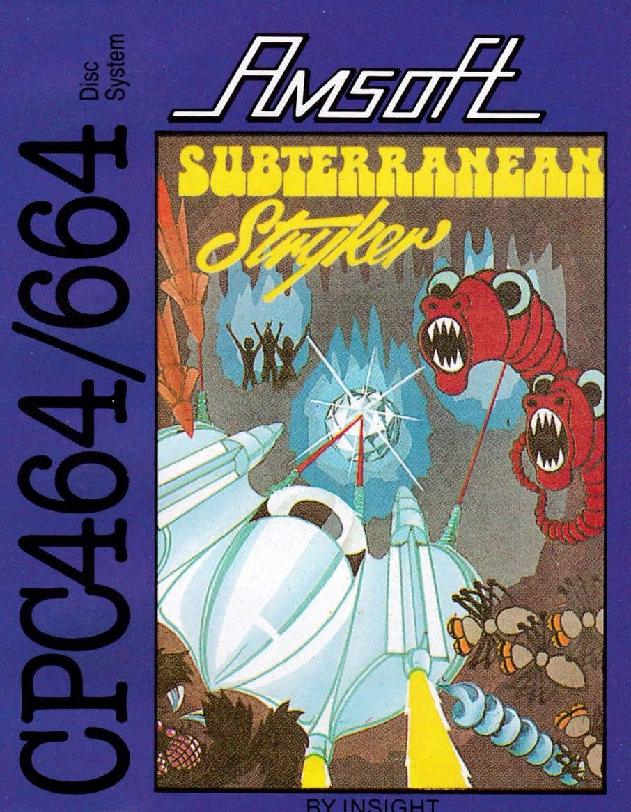 screenshot of the Amstrad CPC game Subterranean stryker by GameBase CPC