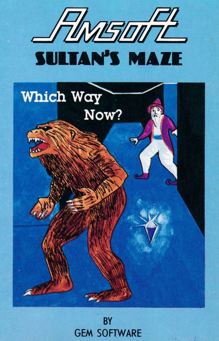 cover of the Amstrad CPC game Sultan's Maze  by GameBase CPC
