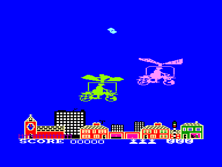 screenshot of the Amstrad CPC game Super gran by GameBase CPC