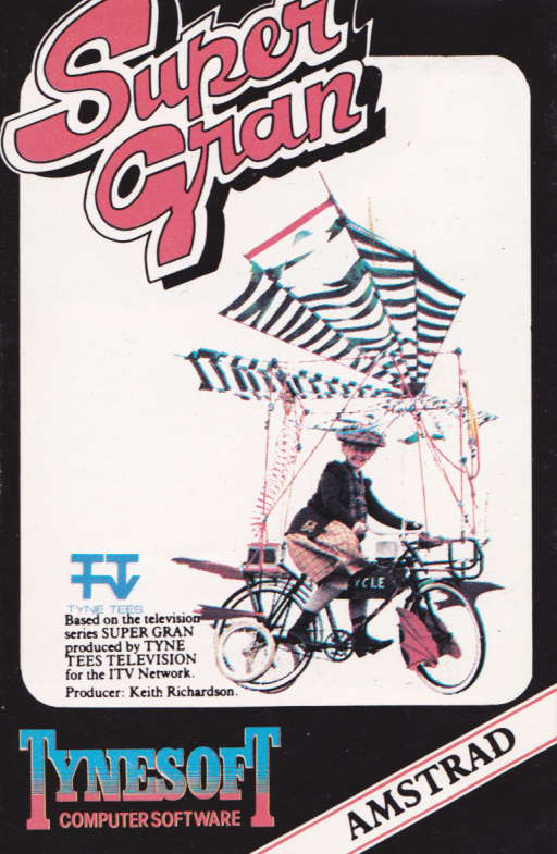 cover of the Amstrad CPC game Super Gran  by GameBase CPC