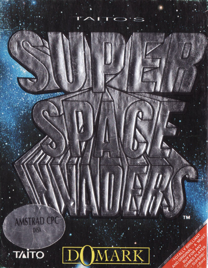 cover of the Amstrad CPC game Super Space Invaders  by GameBase CPC