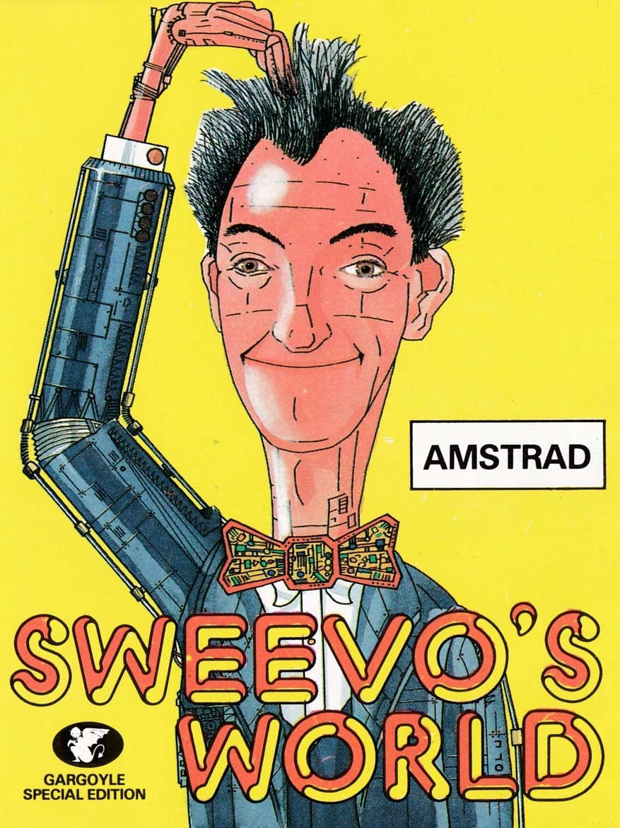 cover of the Amstrad CPC game Sweevo's World  by GameBase CPC