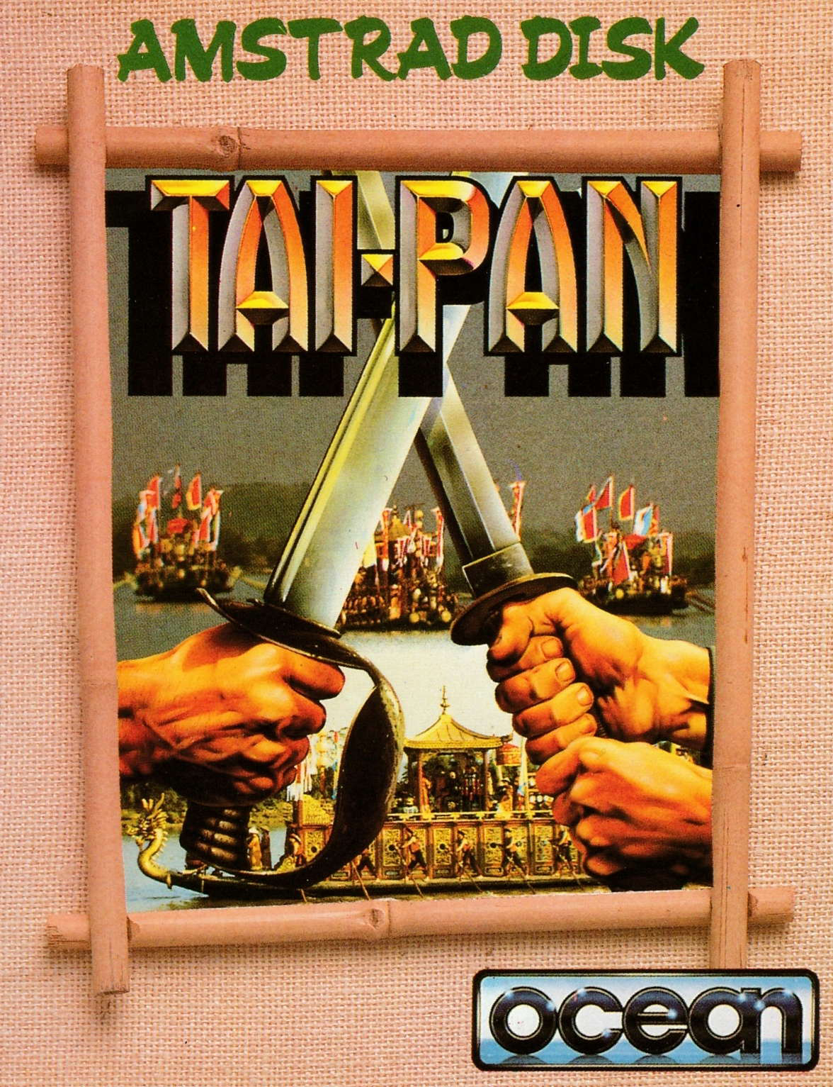 screenshot of the Amstrad CPC game Tai-Pan by GameBase CPC