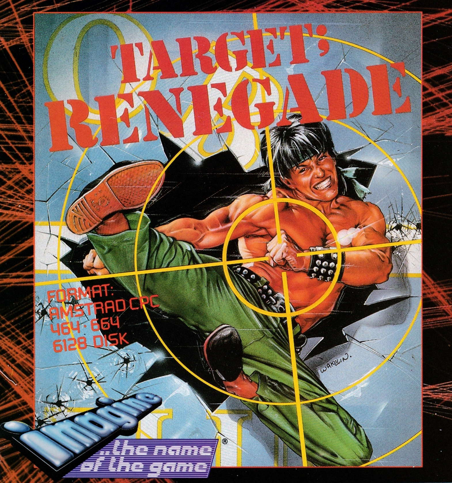 cover of the Amstrad CPC game Target Renegade  by GameBase CPC