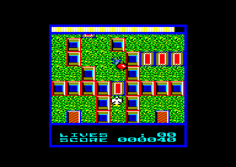 screenshot of the Amstrad CPC game Terra cognita by GameBase CPC