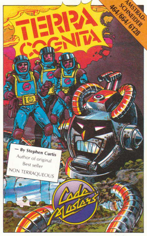 cover of the Amstrad CPC game Terra Cognita  by GameBase CPC