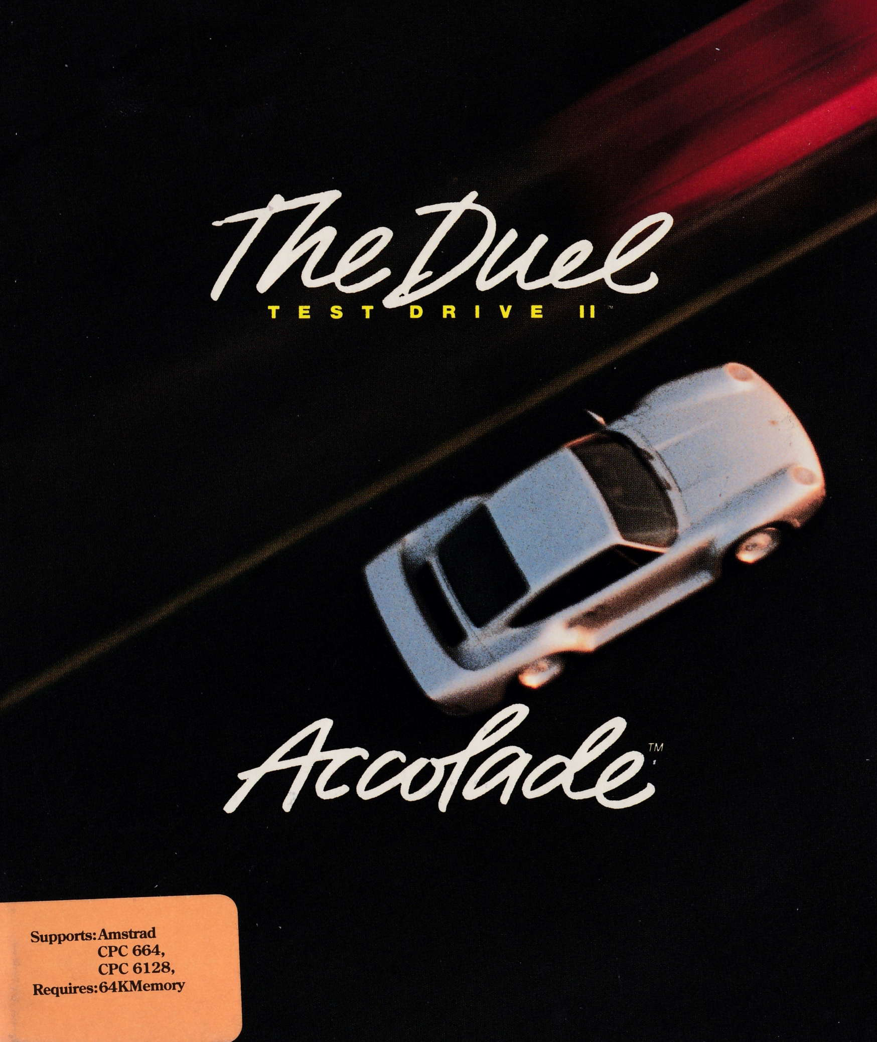 cover of the Amstrad CPC game Test Drive II - The Duel  by GameBase CPC