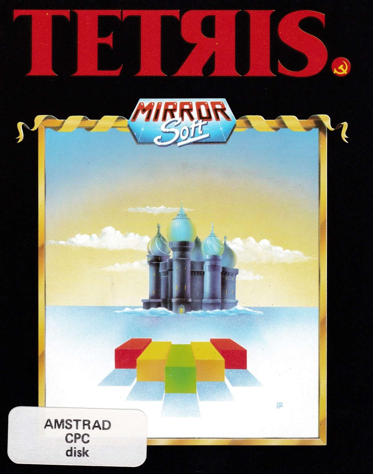 cover of the Amstrad CPC game Tetris  by GameBase CPC