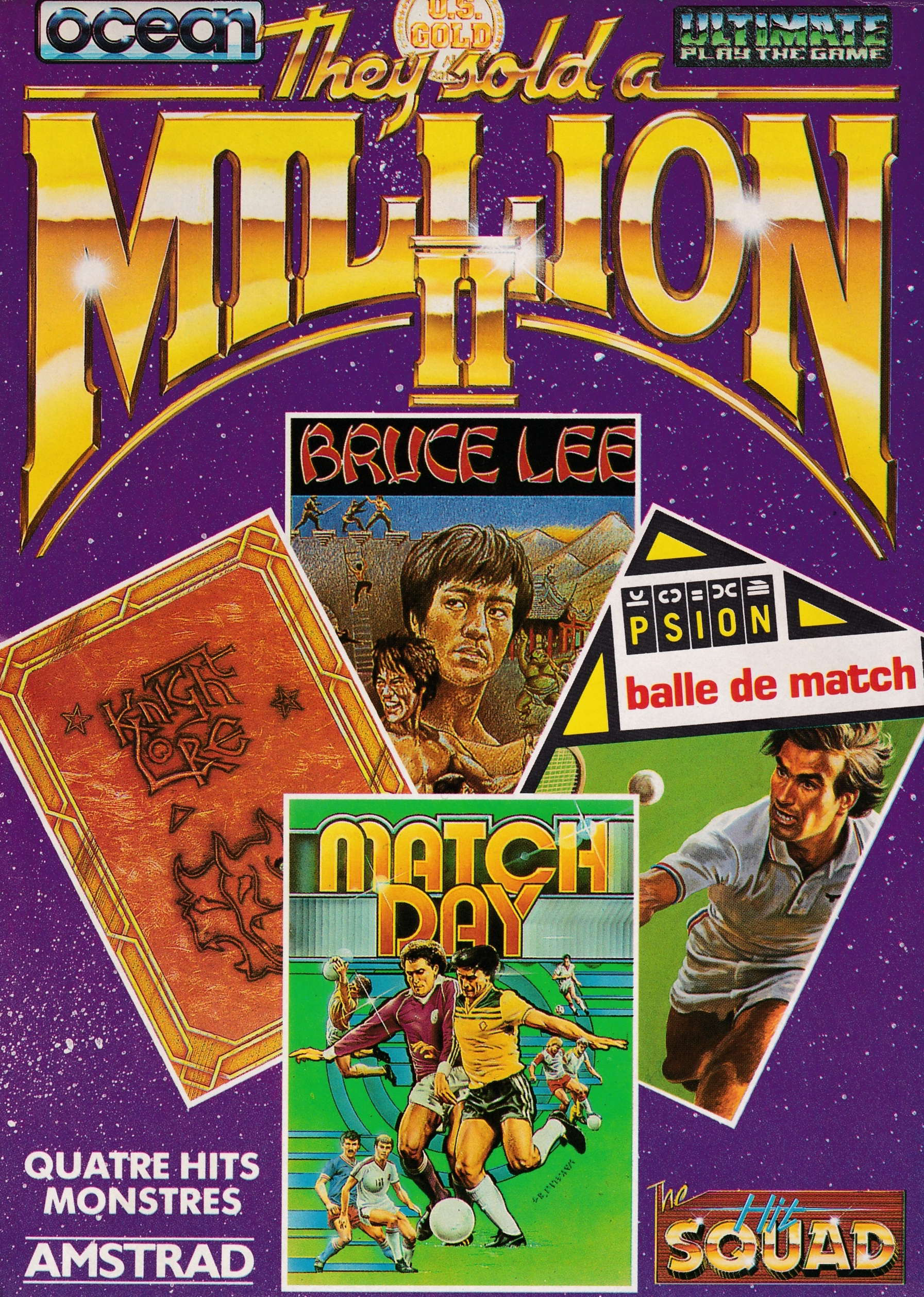 screenshot of the Amstrad CPC game They Sold a Million II by GameBase CPC
