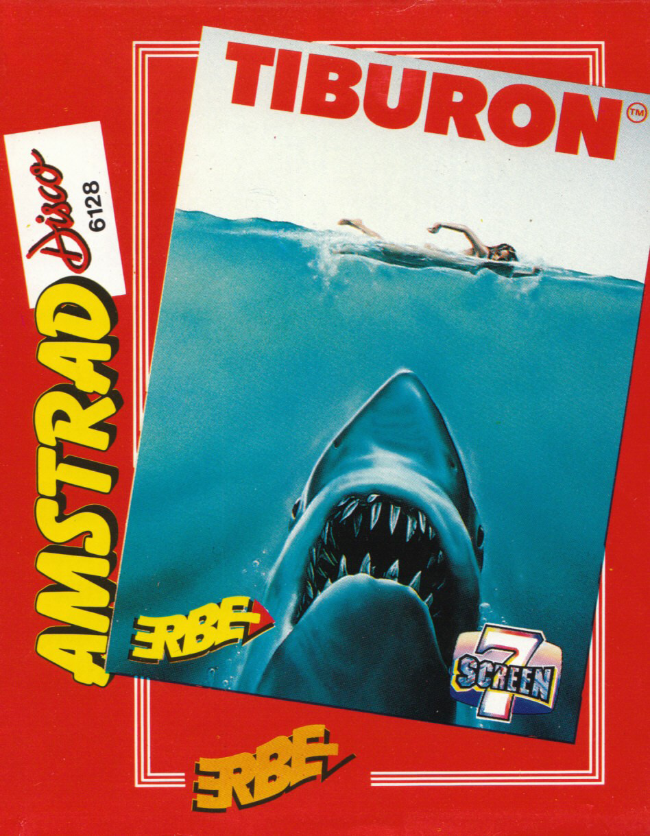cover of the Amstrad CPC game Tiburon  by GameBase CPC