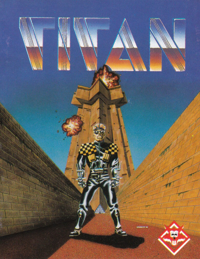 cover of the Amstrad CPC game Titan  by GameBase CPC
