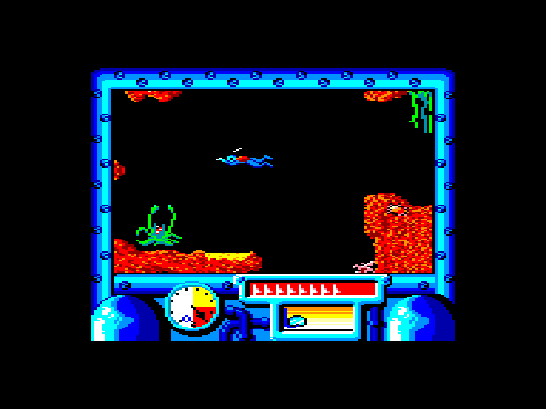 screenshot of the Amstrad CPC game Titanic by GameBase CPC