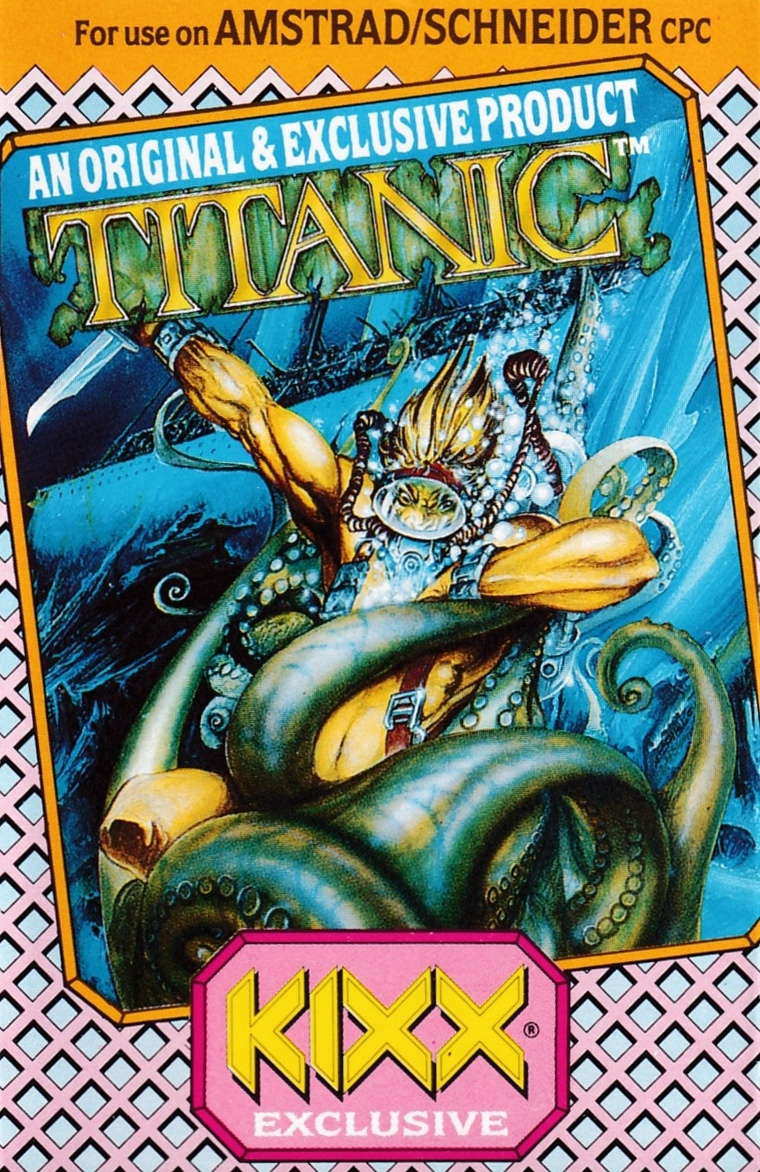 cover of the Amstrad CPC game Titanic  by GameBase CPC
