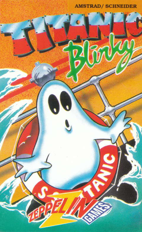 cover of the Amstrad CPC game Titanic Blinky  by GameBase CPC