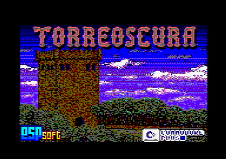screenshot of the Amstrad CPC game Torreoscura by GameBase CPC