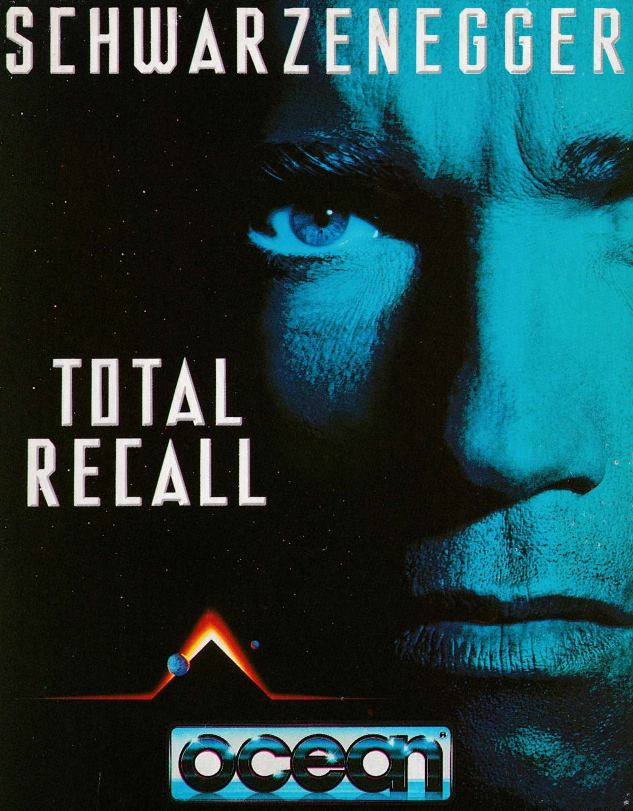 cover of the Amstrad CPC game Total Recall  by GameBase CPC