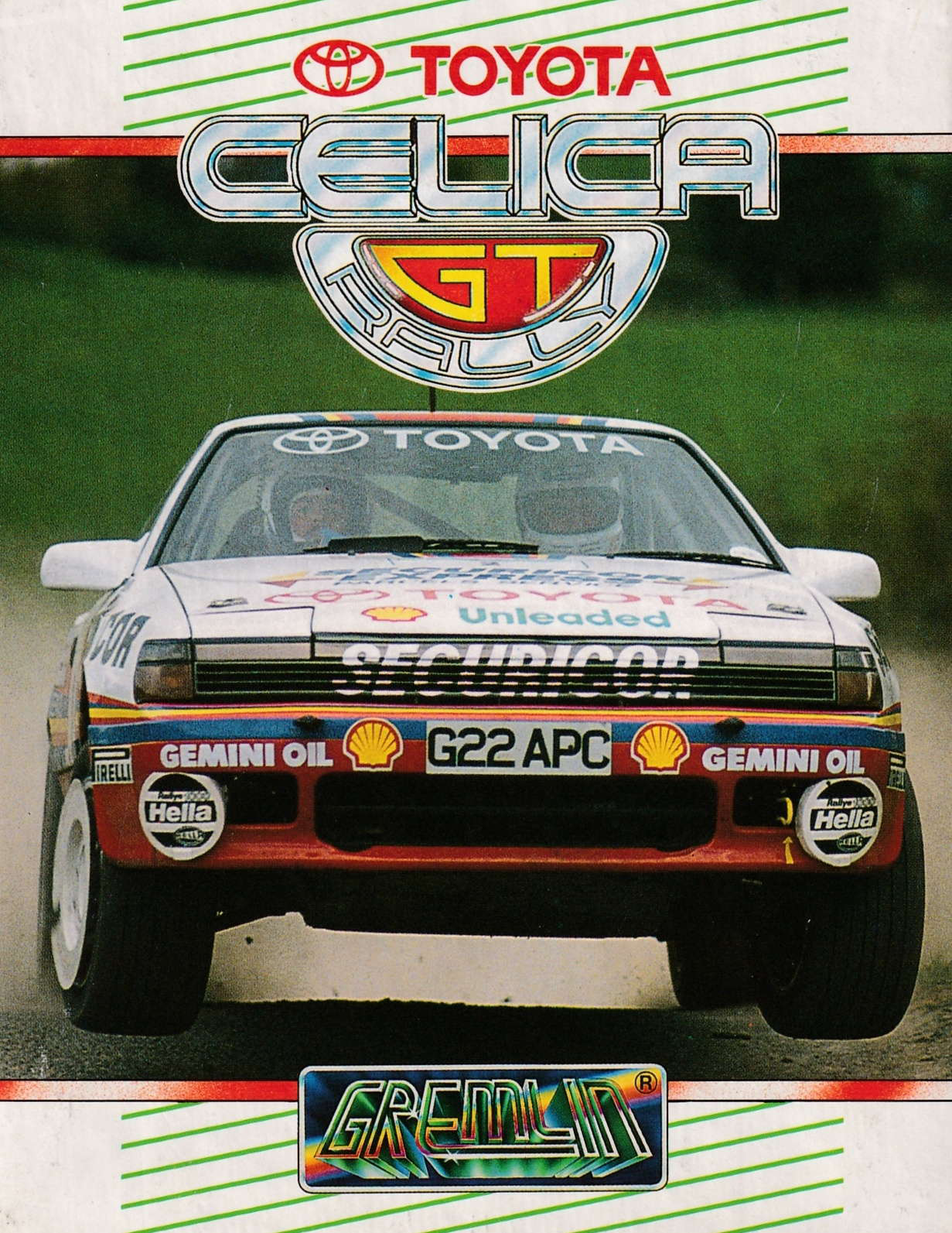 cover of the Amstrad CPC game Toyota Celica GT Rally  by GameBase CPC