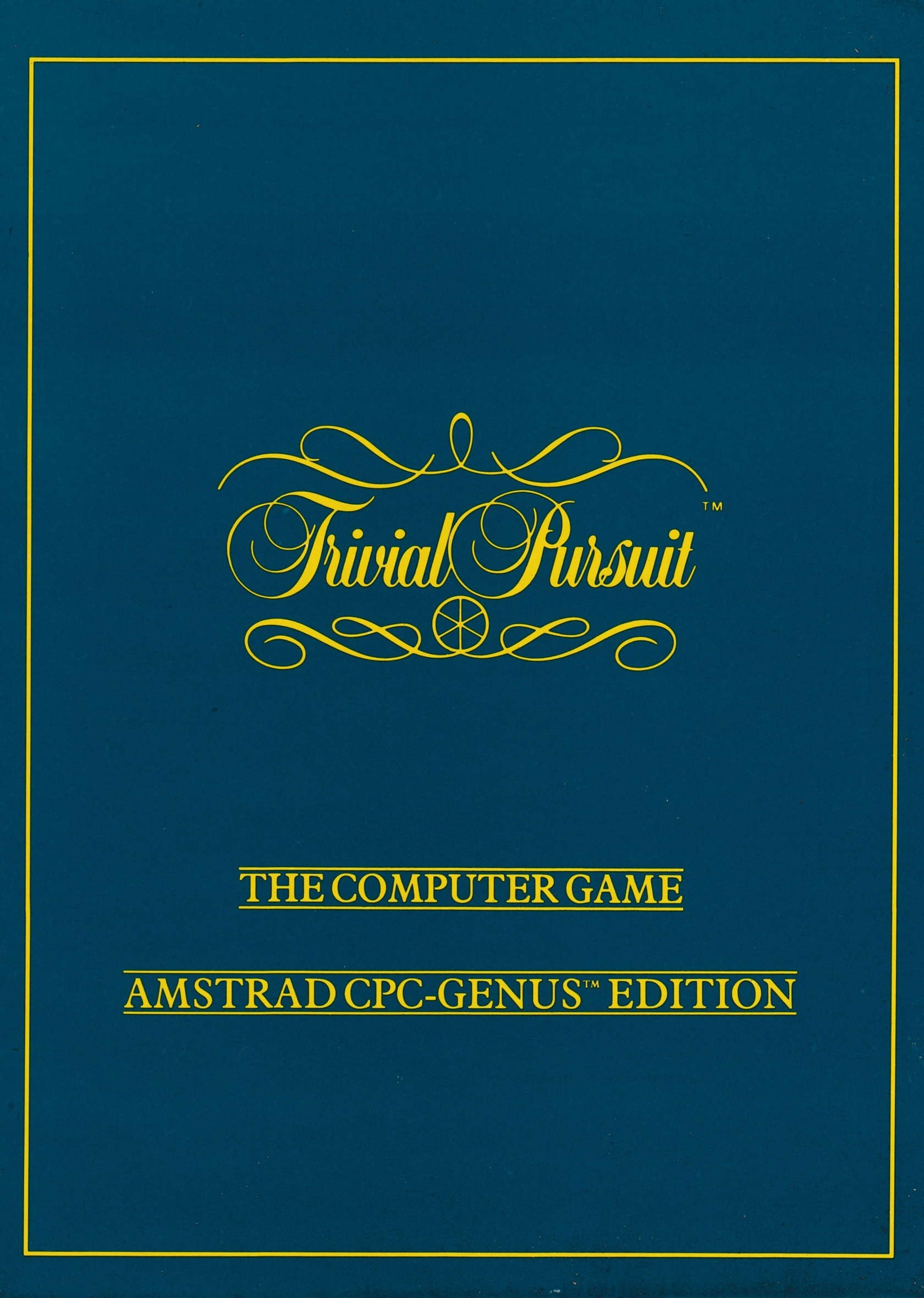 cover of the Amstrad CPC game Trivial Pursuit - Genus Edition  by GameBase CPC