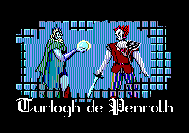 screenshot of the Amstrad CPC game Turlogh le Rodeur by GameBase CPC