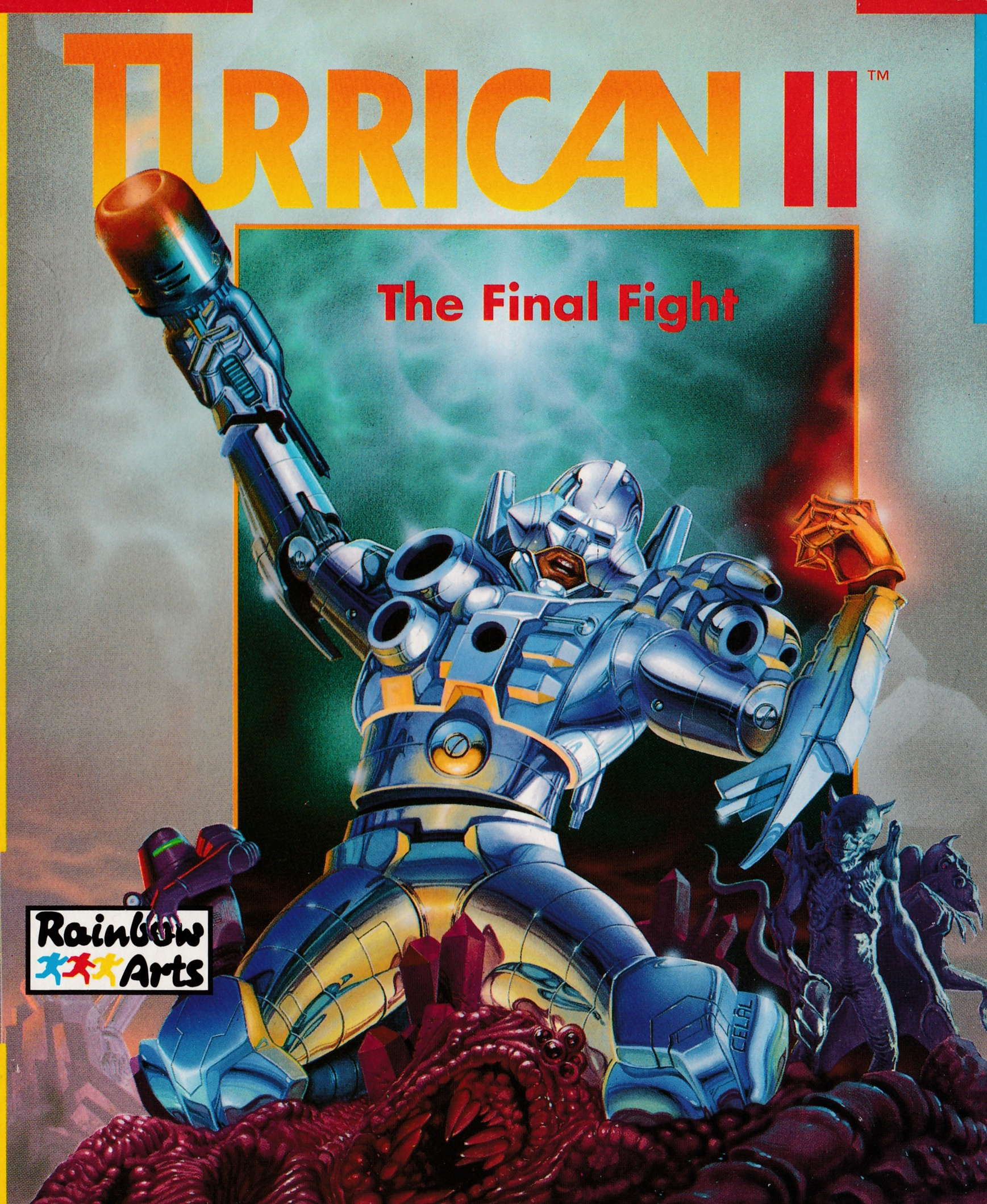 cover of the Amstrad CPC game Turrican II  by GameBase CPC