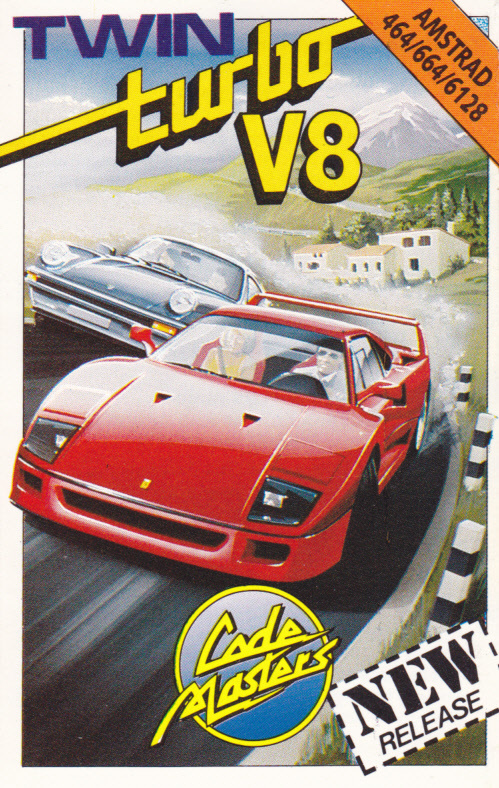 cover of the Amstrad CPC game Twin Turbo V8  by GameBase CPC